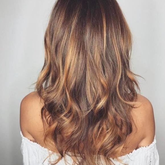 Accessories Hair Extensions 427 Medium Brown Dark Blonde Poshmark